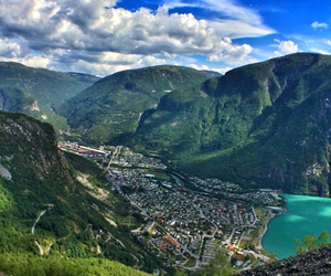 beautiful, mountains, and norway image