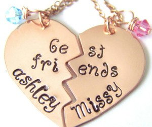 best friend, forever, and jewelry image