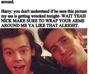 nick grimshaw, lourry, and Harry Styles image