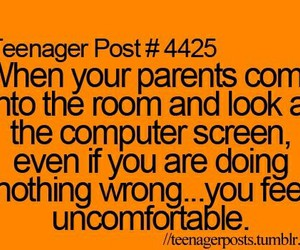 computer, funny, and parents image