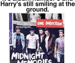 Harry Styles, midnight memories, and one direction image