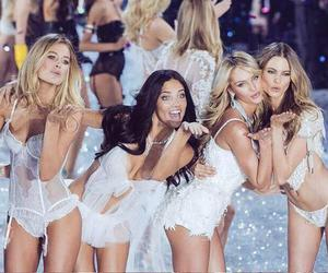 vs, angels, and Victoria's Secret image