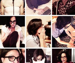 Collage, glasses, and lana parrilla image