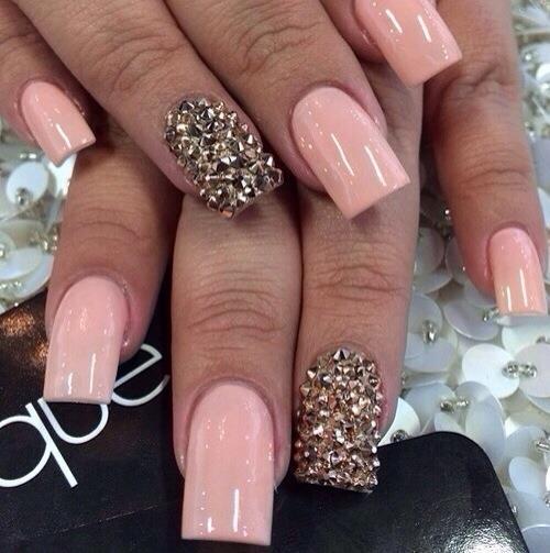 nails, ♥, and nails art image