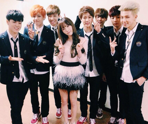 bts, taeyeon, and snsd image