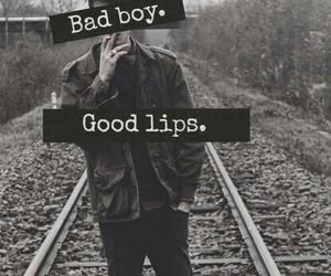 boy, bad boy, and lips image