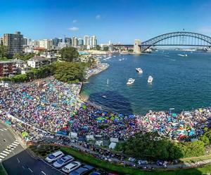 australia, beach, and holiday image