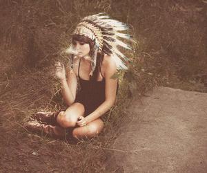 drugs, headband, and native american image