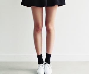 skirt, legs, and black image