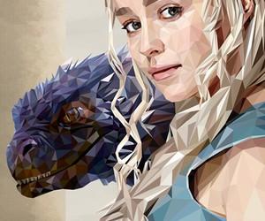 art, dragon, and got image