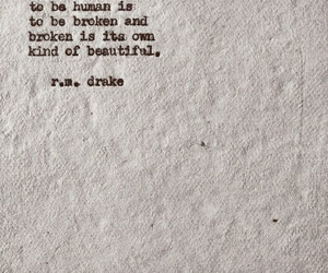 broken, poetry, and quote image