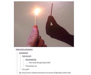 funny, tumblr, and fire image