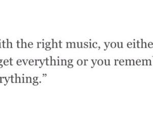 music, remember, and thinking image