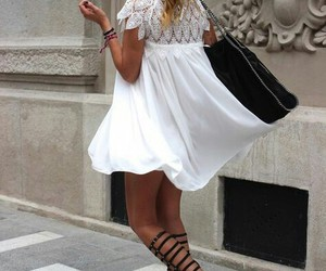 dress, fashion, and street style image