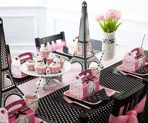 paris, party, and pink image