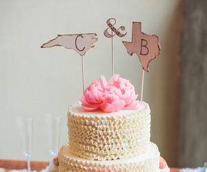 bride, cake, and country image