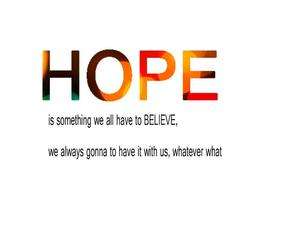 always, forever and always, and hope image