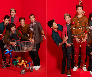 one direction, 1d, and christmas image