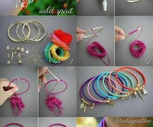 :), bracelet, and diy image