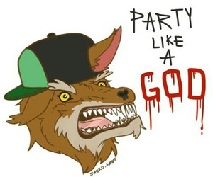 adventure time and party god image