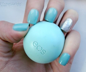 blue, eos, and nails image