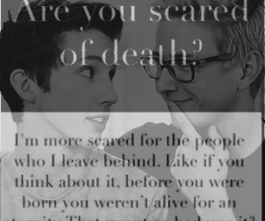 death, otp, and quotes image