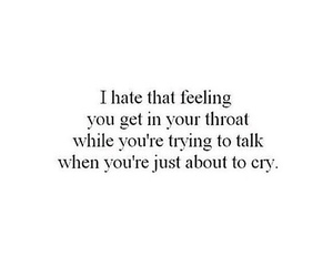 cry, feeling, and sad image
