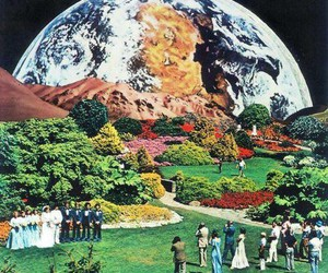 earth, wedding, and world image