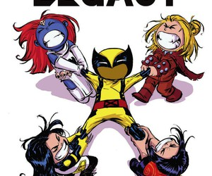wolverine, marvel comics, and skottie young image