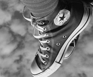 converse, purple, and all star image
