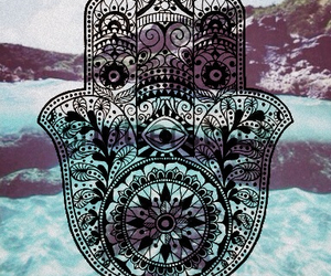 wallpaper, hamsa, and hand image