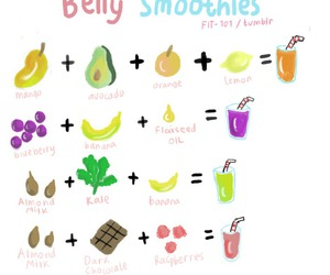 fitness, fruit, and smoothie image
