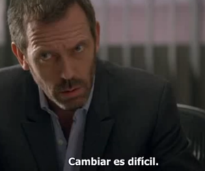 change, dr house, and hugh laurie image