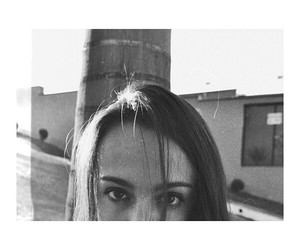 black and white, girl, and eyes image