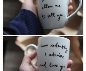cup, mug, and quote image
