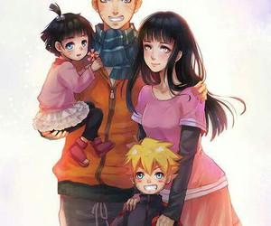 naruto, family, and naruhina image