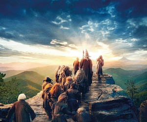 the hobbit and love image