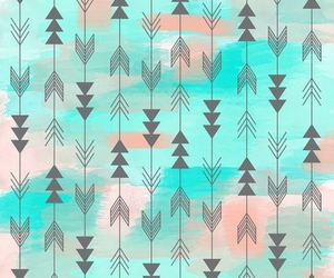 wallpaper, blue, and arrow image