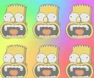 wallpaper, bart, and bart simpson image