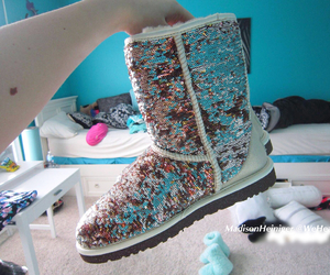 boots, sparkly, and tumblr image