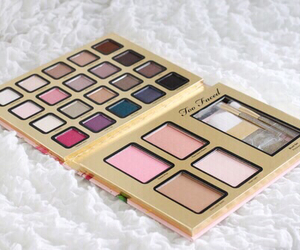 too faced, eyeshadow, and makeup image