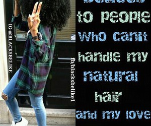 natural hair image