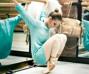 ballet, bun, and dance image