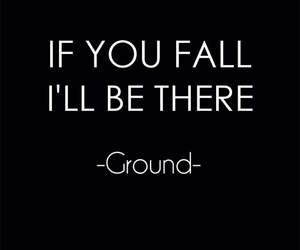 black, fall, and quote image