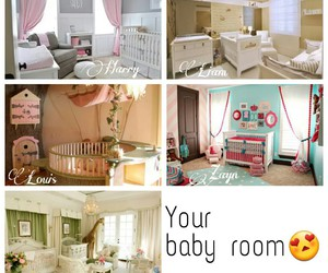 baby room, imagine, and louis image