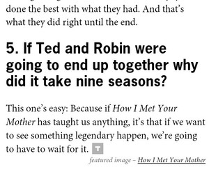 himym, season finale, and legendary image