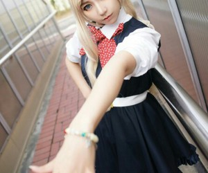 anime, cosplay, and sonia nevermind image