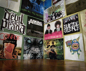 bring me the horizon, confide, and silverstein image