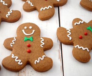 christmas and gingerbreadmen image