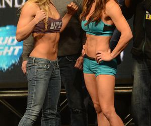 mma, ronda rousey, and mischa tate image